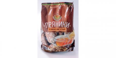Пряники с какао фигурные 350г / 2кг / 5кг