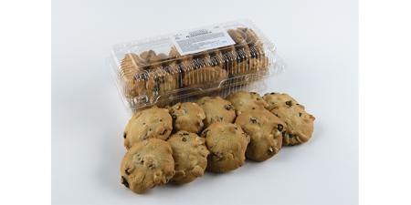 Печенье сдобное с изюмом и арахисом