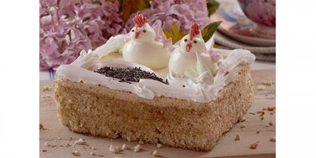 Торт Цветочная полянка 0,5 кг