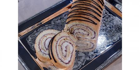 Рулет Суфлейно-ягодный 0,4 кг