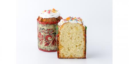 Кекс пасхальный творожный с  цукатами 0,2 кг