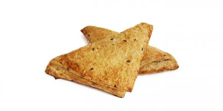 Треугольники слоеные с картофелем и грибами/с картофелем и луком 70 г